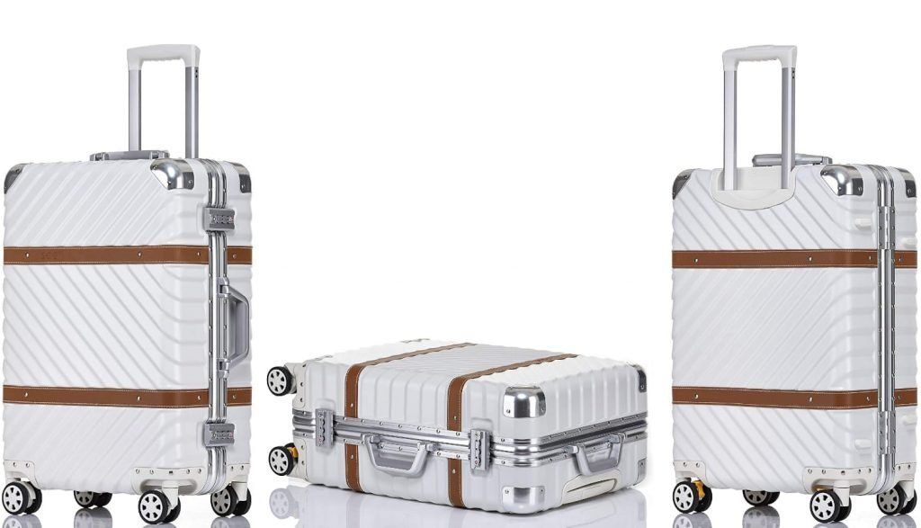 Clothink Aluminum Frame Luggage Fashion 24