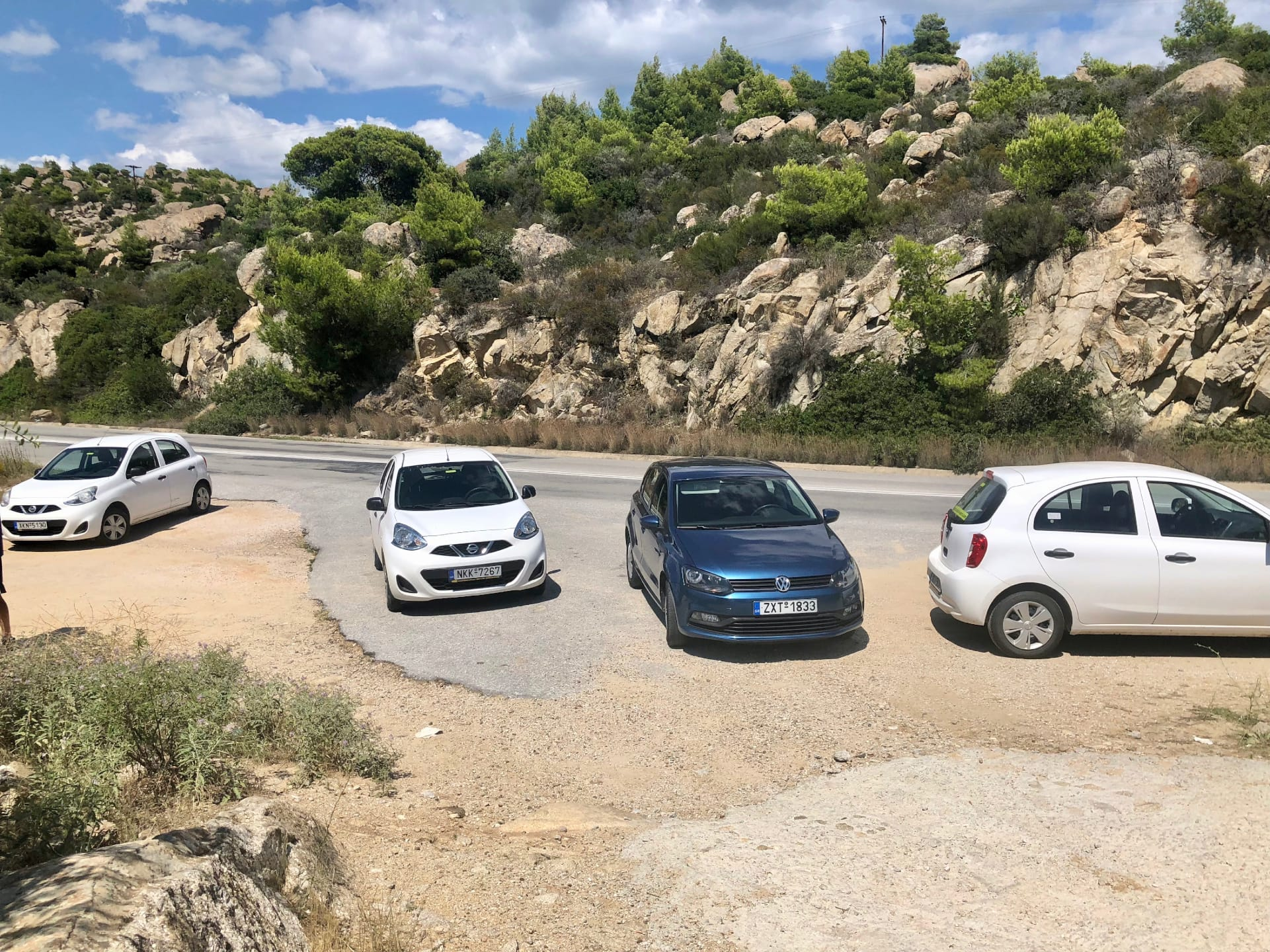 Rent a car in Greece