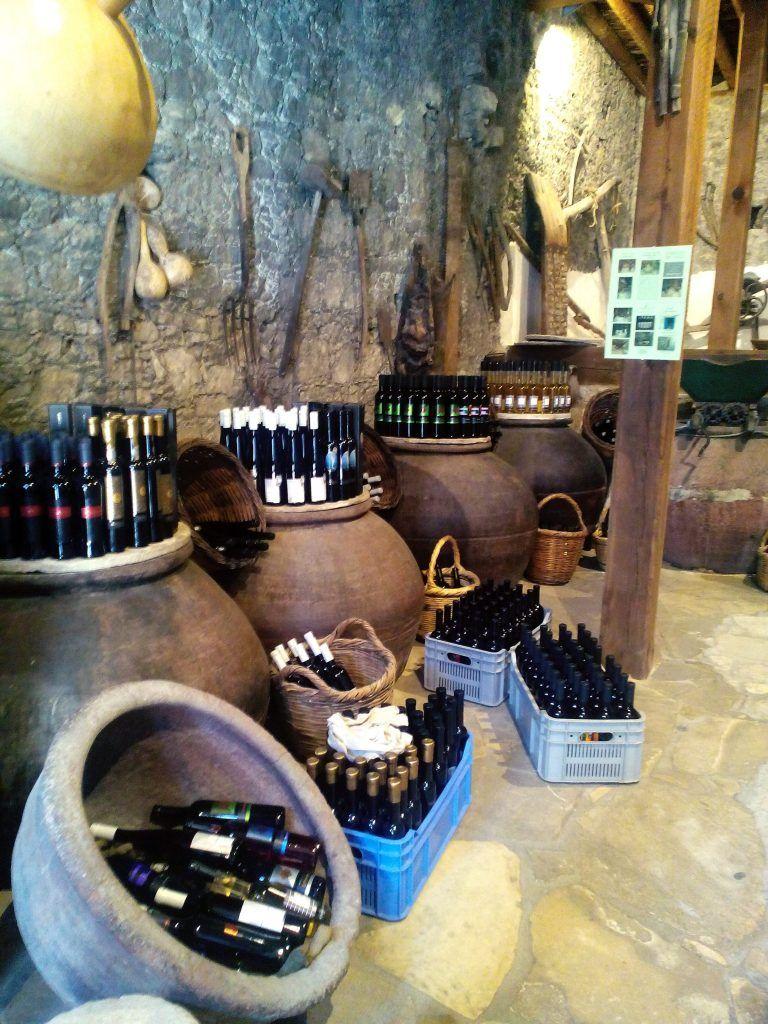 Omodos village Cyprus winery