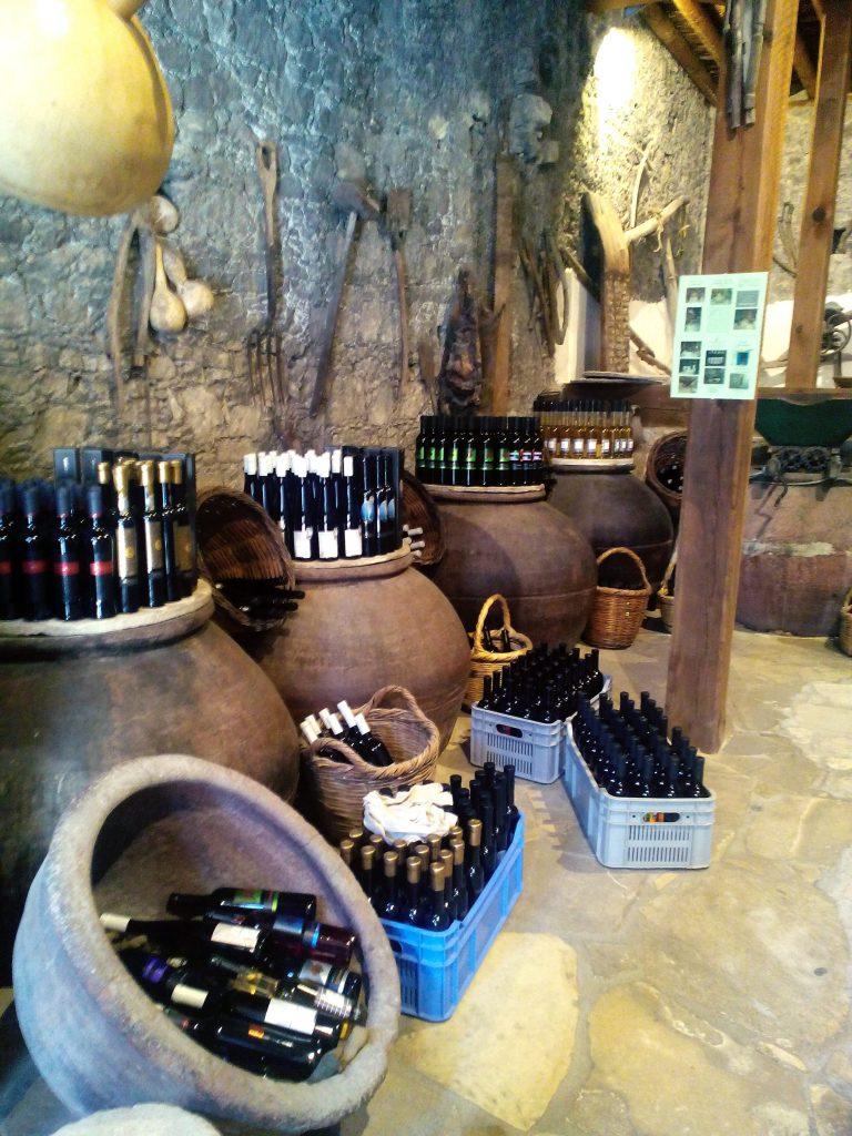 Omodos village Cyprus wine