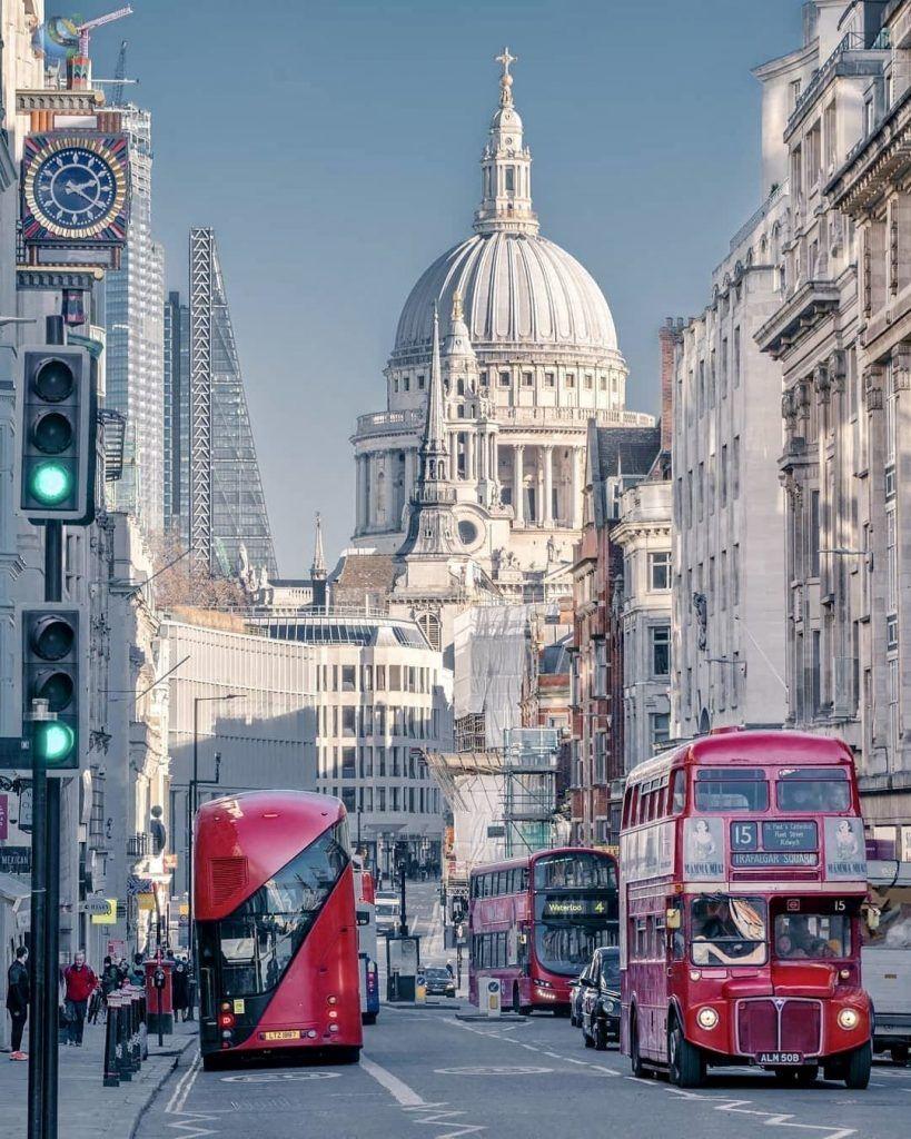 Famous London busses