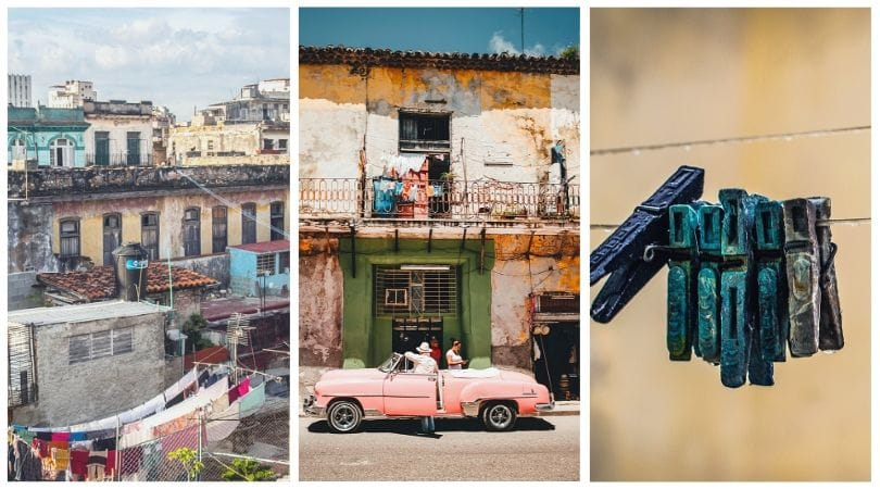 You may not find the laundry services in Cuba!