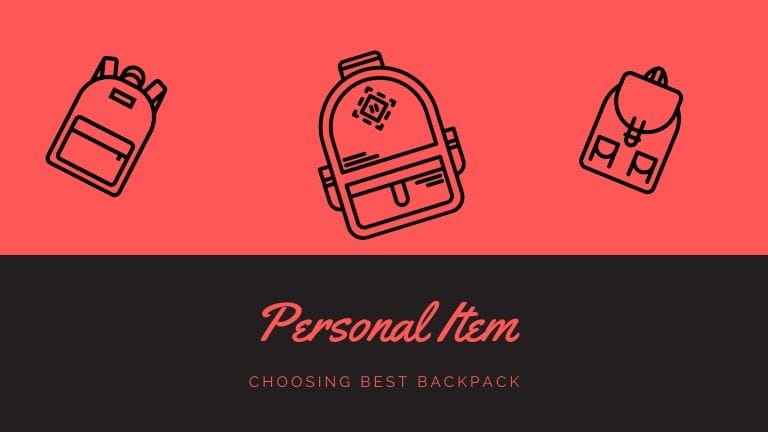 personal item backpack