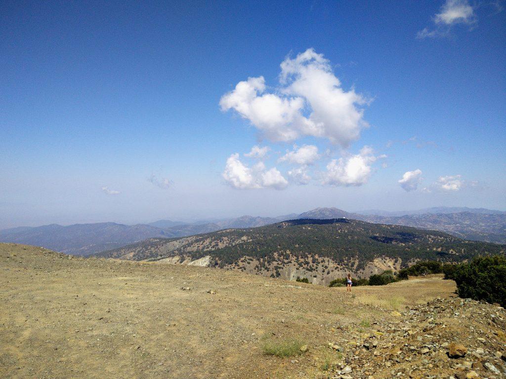 Гора Олимп(Олимбос) на Кипре