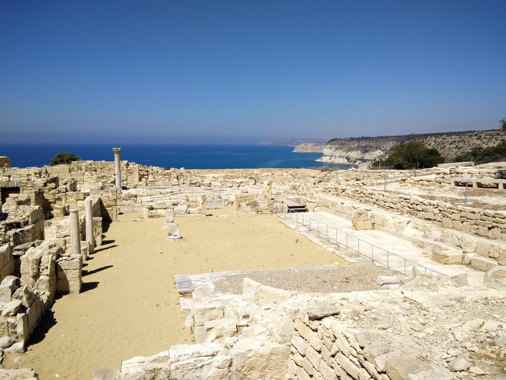 Ancient city Kourion - Cyprus