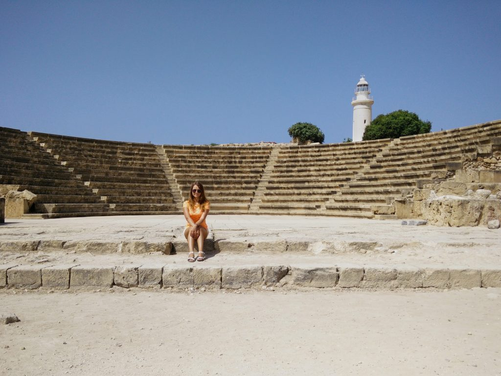 Paphos Archeology park - Cyprus