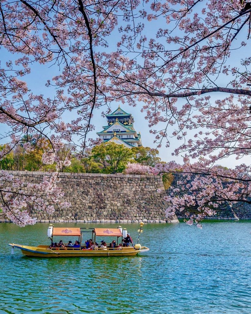 Замок в Осаке
