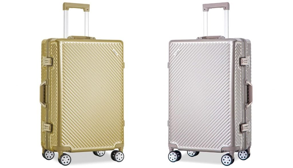 Flieks Aluminum Frame Luggage 28