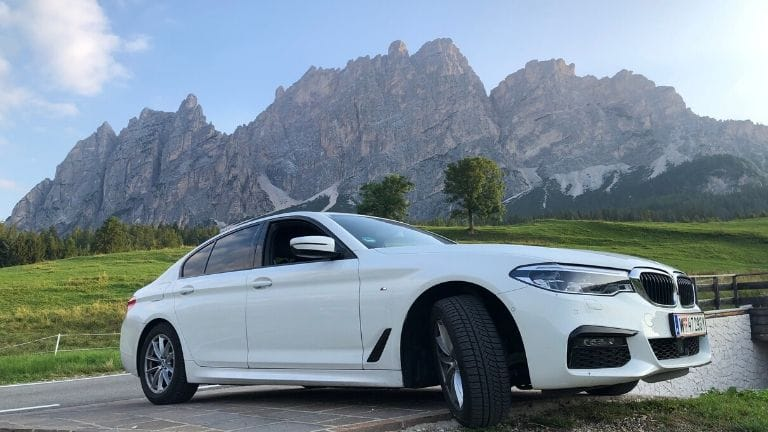 rent a car in the Dolomites